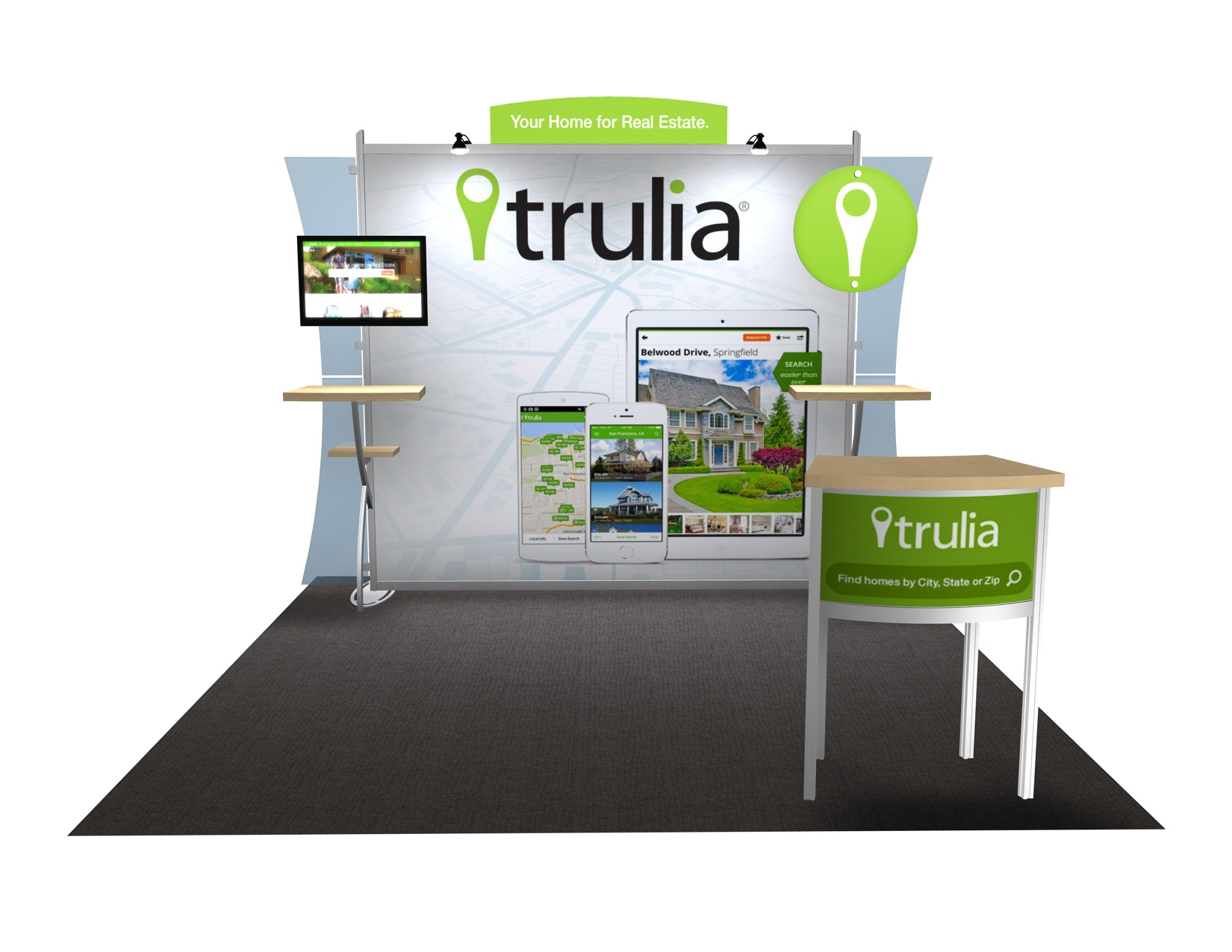 Trade Show Booth Etiquette : Things to consider before buying a portable hybrid